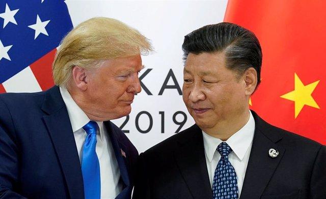El presidente de Estados Unidos, Donald Trump, y el de China, Xi Jinping.