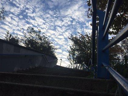 Jornada nubosa y gris, con máximas que no superarán los 15 grados, este sábado en Euskadi