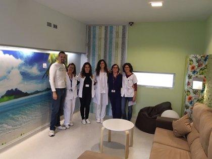 La 'sala confort' del Hospital Santa Lucía destaca dentro del nuevo modelo mundial de humanización en salud mental