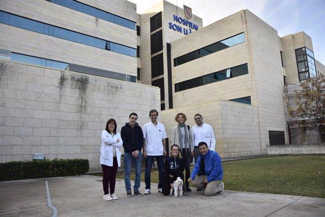 Primera visita incluida dentro del programa 'Dogspital' en el Hospital Universitario Son LLàtzer