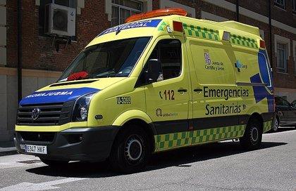 Herida una joven de 20 años en una colisión entre dos turismos en Burgos