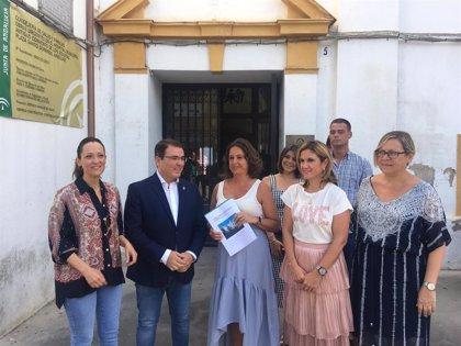 Cultura impulsa las obras de remodelación del antiguo hospital de Andújar (Jaén)