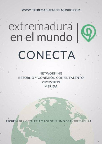El encuentro 'Conecta 2019' reunirá en Mérida a la ciudadanía extremeña en el exterior y a personas que han retornado