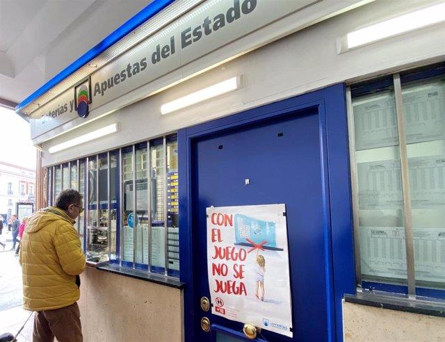 Administración de Loterías en una imagen de archivo.