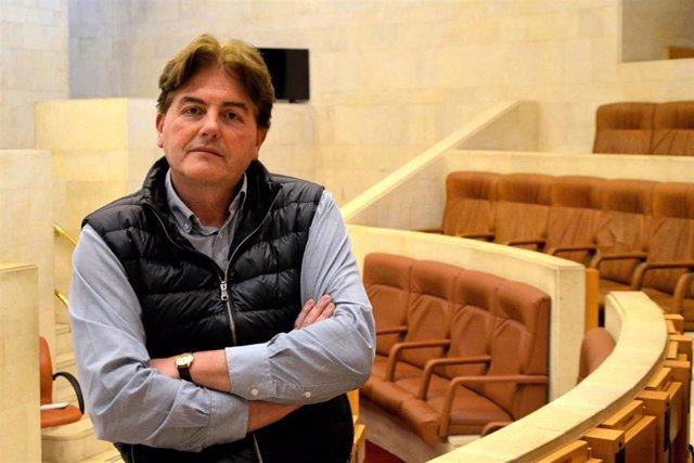 El diputado del PP en el Parlamento de Cantabria Pedro Gómez