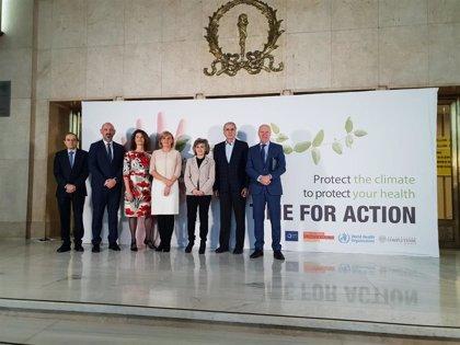 """Carcedo advierte de que las consecuencias del cambio climático """"son ya una emergencia de salud pública"""""""