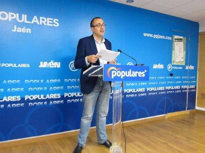 """PP critica que PSOE y Cs """"castiguen"""" a Jaén a """"perder"""" la capitalidad y generar desigualdad"""