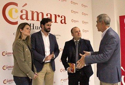 """Díaz (Cs) pide para la Cámara de Comercio un """"papel fundamental"""" en la dinamización de la provincia de Huelva"""