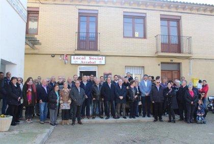 Los vecinos del municipio oscense de Huerto disponen de un nuevo local social