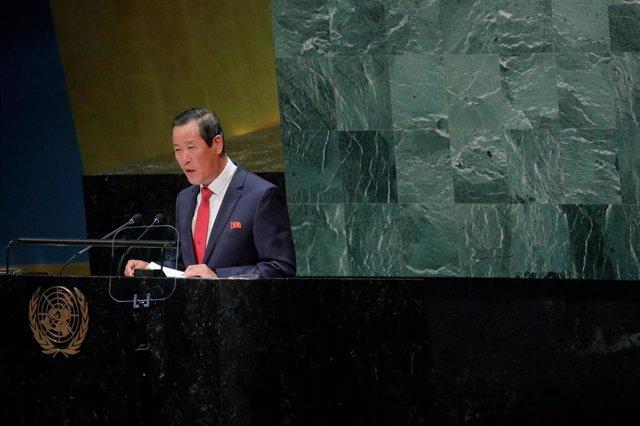 Kim Song, embajador de Corea del Norte ante Naciones Unidas