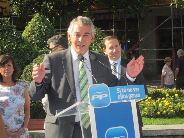 Antón Damborenea, parlamentario del PP y presidente de la formación en Bizkaia