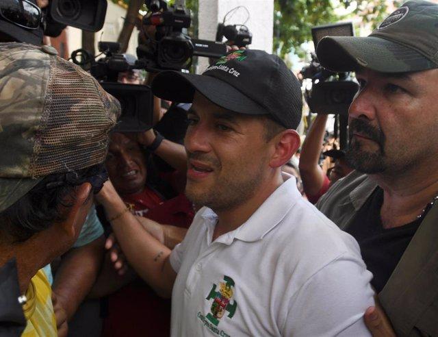 El dirigente opositor boliviano Fernando Camacho