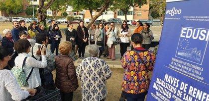 El Ayuntamiento de Sevilla promueve un encuentro vecinal en el Polígono Norte dentro del programa Edusi