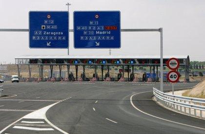 El peaje de las autopistas subirá un 0,84% a partir del 1 de enero