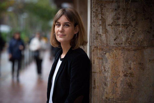 Jéssica Albiach, coordinadora nacional dels comuns i líder de CatECP al Parlament, en una entrevista d'Europa Press el 5 de desembre del 2019.