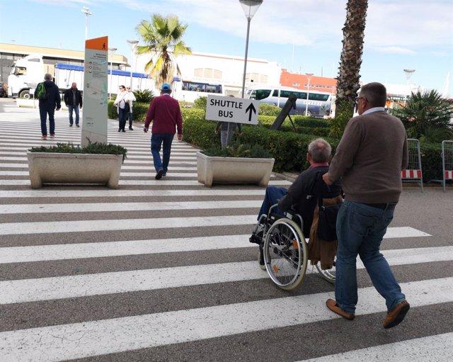 Accesibilidad en el Puerto de Valencia