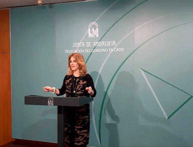Ana Mestre, en rueda de prensa