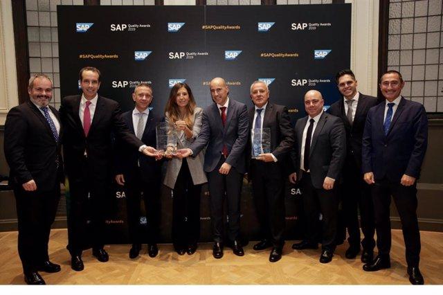 Minsait, una compañía de Indra, reconocida en los premios 'SAP Quality Awards' por sus proyectos con Jealsa Rianxeira y Luckia