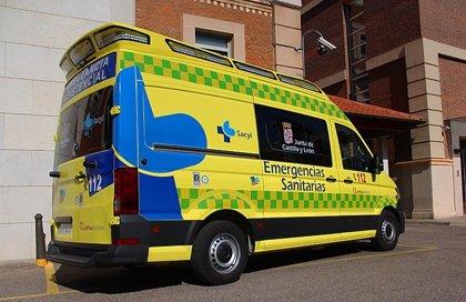 Atendido un varón de 68 años por inhalación de gas en una vivienda de Lumbrales (Salamanca)