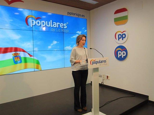 La diputada nacional del PP, Cuca Gamarra