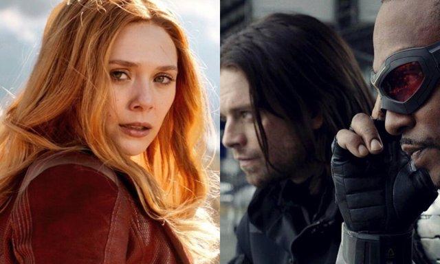 Wanda y The Falcon and the Winter Soldier, las nuevas series de Disney+