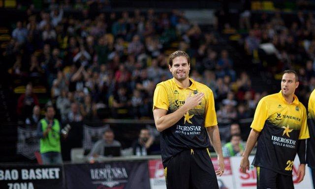Bogris Georgios, Retabet Bilbao Basket contra Iberostar Tenerife