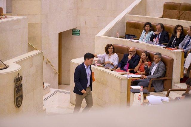 El diputado de Cs en el Parlamento de Cantabria Diego Marañón