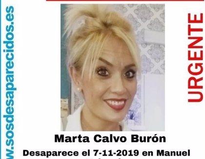 La Guardia Civil reanuda este lunes la búsqueda del cuerpo de Marta Calvo