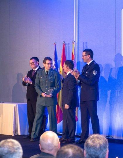 La Guardia Civil galardonada en la XIII Diada de la Policía Local en Ibiza