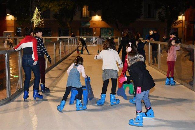 Pista de patinaje de Tomares.