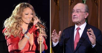 Mariah Carey agradece a Málaga que ponga su música en las calles por Navidad y el alcalde la invita a la ciudad