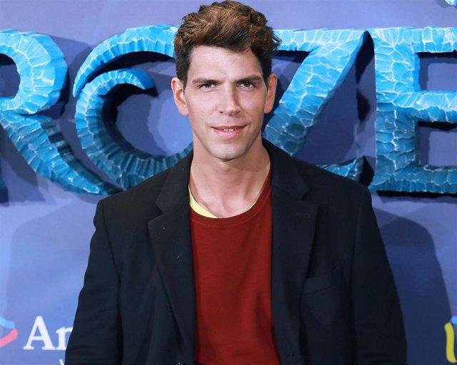 Diego Matamoros, en la premiere de 'Frozen II'