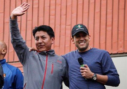 Bolivia.- Difunden un audio en el que Pumari pide a Camacho 250.000 dólares por ser compañero de fórmula en Bolivia