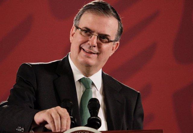 El ministro de Exteriores mexicano, Marcelo Ebrard.