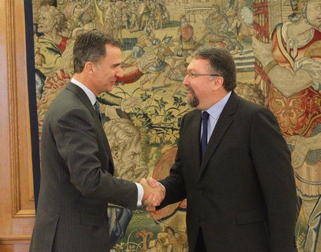 El Rey iniciará el martes la ronda de consultas para la investidura con Martínez