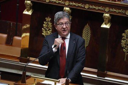 El líder izquierdista francés Mélenchon, condenado a una pena suspendida de tres meses de cárcel