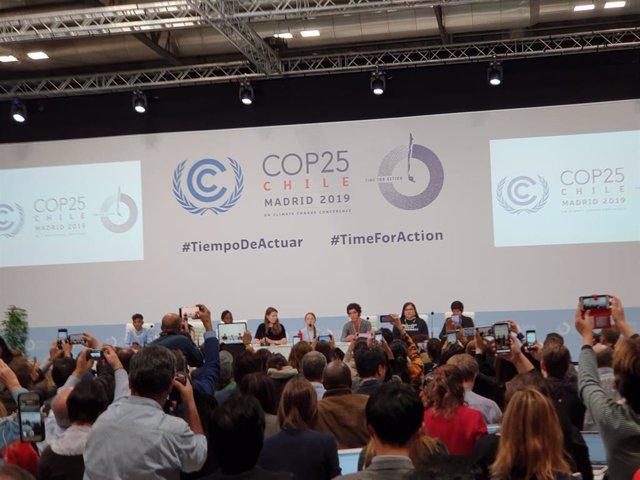 """COP25.- Greta Thunberg calla para dar voz a los jóvenes del mundo: """"Necesitan co"""