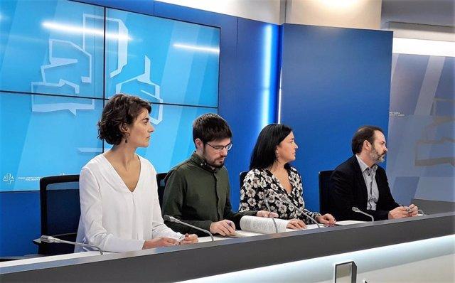 """Am.-E-Podemos reivindica su papel """"determinante"""" en la política vasca tras su pacto con el Gobierno"""
