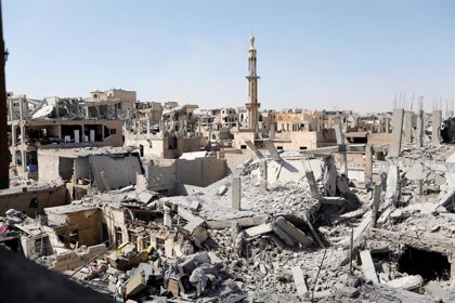 Las fuerzas de Rusia entran por primera vez en Raqqa tras la retirada de las fuerzas de EEUU