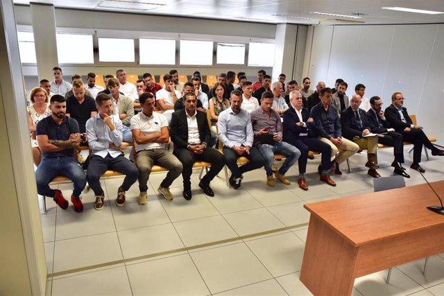 AMP. Fútbol. Absueltos jugadores del Zaragoza y Levante del presunto amaño y con