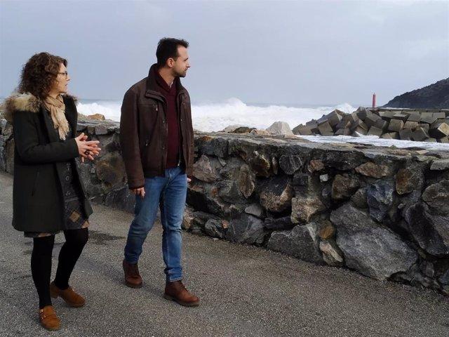 Ana Isabel Fernández y Álvaro Queipo en Puerto de Vega