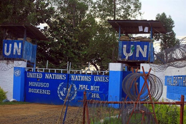Base de la MONUSCO en Beni, en Kivu Norte (este de RDC)