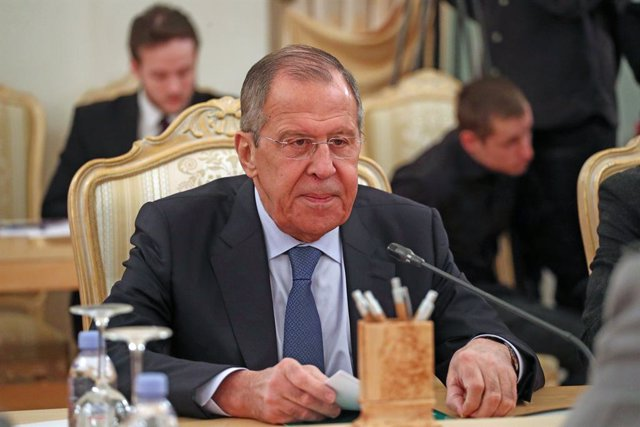 """EEUU/Rusia.- Trump recibirá mañana a Lavrov, quien realizará una """"visita de trab"""