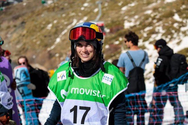 Snowboard.- Queralt Castellet ambiciona el Globo de Cristal de halfpipe en la Co
