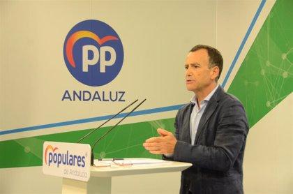 """El PP exige saber cómo afectarán a Andalucía los """"acuerdos secretos"""" de Sánchez para formar Gobierno"""