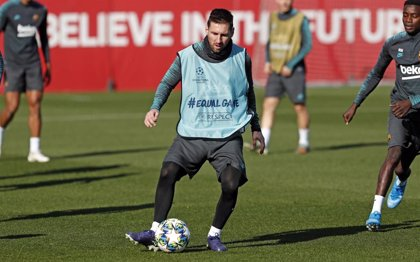 Messi, Piqué y Sergi Roberto descansarán en el trámite ante el Inter