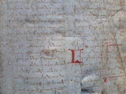 Manuscrit del segle XIV còpia d'una llibre de Ramon Llull