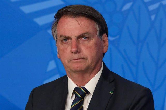 El presidente de Brasil, Jair Bolsonaro