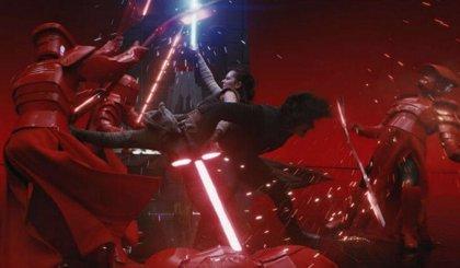 Daisy Ridley revive su escena más impactante en Star Wars