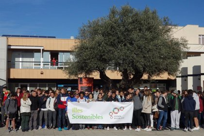 Un total de 150 alumnos del Centro de Tecnificación Deportiva de Baleares se implican en la cumbre del COP25